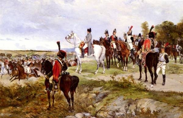 Napoleon Watching The Battle Of Friedland 1807